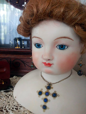 Blue Rochard Stanhope Jewel Doll